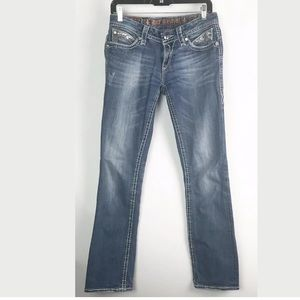 Women's Rock Revival Jeans Size 29 Sasha Straight